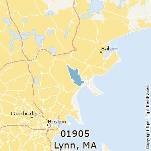 Lynn Zip Code Map.Best Places To Live In Lynn Zip 01905 Massachusetts