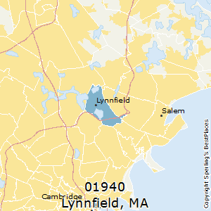 Lynnfield,Massachusetts County Map
