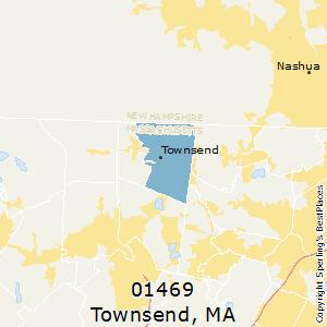 Townsend ma zip code