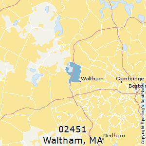 Best Places to Live in Waltham (zip 02451), Massachusetts