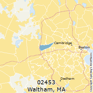 Best Places to Live in Waltham (zip 02453), Massachusetts