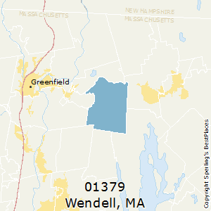 Wendell,Massachusetts County Map