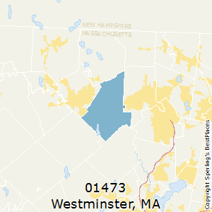 Westminster,Massachusetts County Map