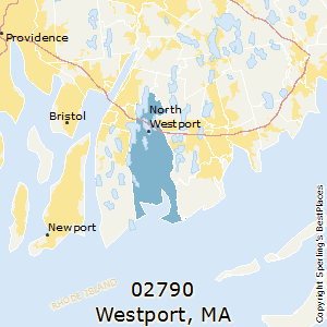 Westport,Massachusetts County Map