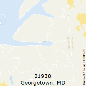 Georgetown,Maryland County Map