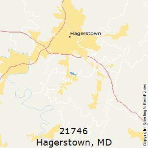 Hagerstown Md Zip Code Map.Best Places To Live In Hagerstown Zip 21746 Maryland
