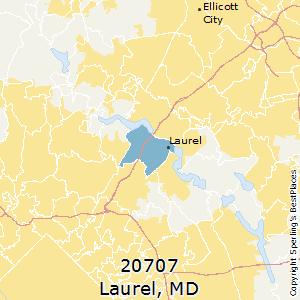 Laurel Md Zip Code Map.Best Places To Live In Laurel Zip 20707 Maryland