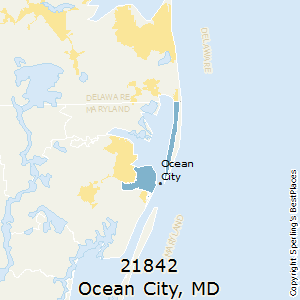 Ocean_City,Maryland County Map