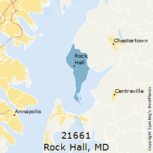 Rock_Hall,Maryland County Map
