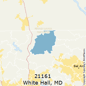 White_Hall,Maryland County Map