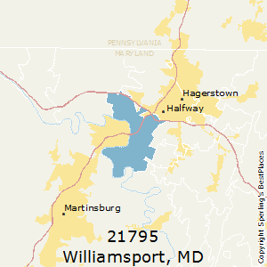Hagerstown Md Zip Code Map.Best Places To Live In Williamsport Zip 21795 Maryland