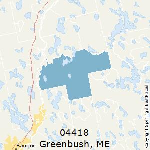 Bangor Maine Zip Code Map.Best Places To Live In Greenbush Zip 04418 Maine