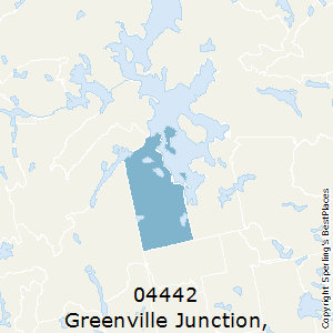 Greenville_Junction,Maine County Map