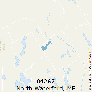 North_Waterford,Maine County Map