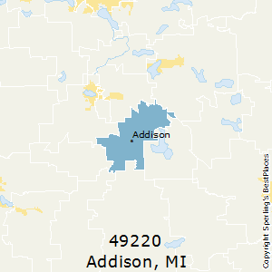 Addison Michigan Map.Best Places To Live In Addison Zip 49220 Michigan