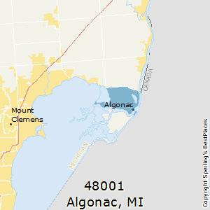 Algonac Michigan Map.Best Places To Live In Algonac Zip 48001 Michigan