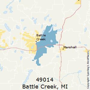 Battle Creek Mi Zip Code Map.Best Places To Live In Battle Creek Zip 49014 Michigan