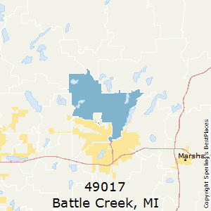 Best Places to Live in Battle Creek (zip 49017), Michigan