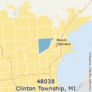 Best Places to Live in Clinton Township (zip 48038), Michigan