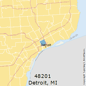 Best Places to Live in Detroit (zip 48201), Michigan