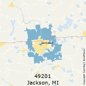 Jackson Mi Zip Code Map.Best Places To Live In Jackson Zip 49201 Michigan