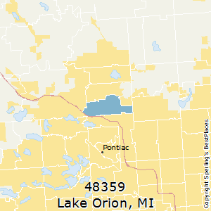 Lake_Orion,Michigan County Map