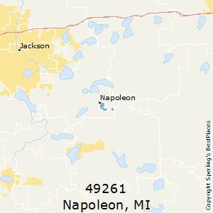 Jackson Mi Zip Code Map.Best Places To Live In Napoleon Zip 49261 Michigan