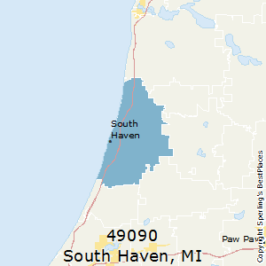 South_Haven,Michigan County Map