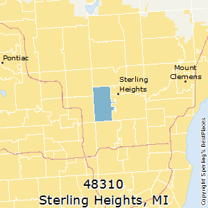 Best Places to Live in Sterling Heights (zip 48310), Michigan