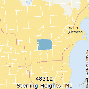 Best Places To Live In Sterling Heights Zip 48312 Michigan