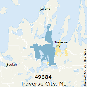 Traverse City Zip Code Map.Best Places To Live In Traverse City Zip 49684 Michigan