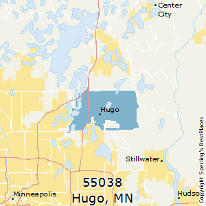Hugo Minnesota Map.Best Places To Live In Hugo Zip 55038 Minnesota