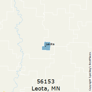 Leota,Minnesota County Map