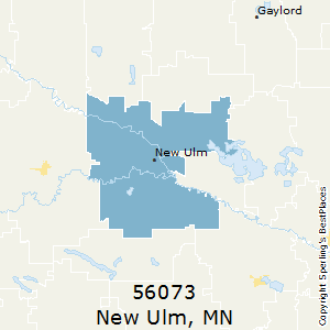 Zip code for new ulm mn