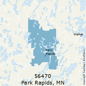 Park_Rapids,Minnesota County Map