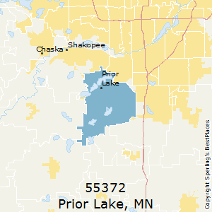Prior_Lake,Minnesota(55372) Zip Code Map