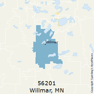 Willmar,Minnesota(56201) Zip Code Map
