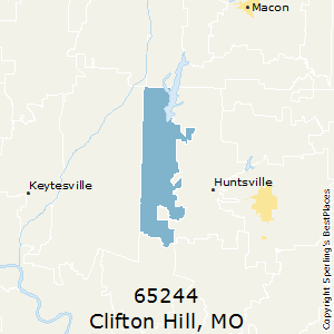 Clifton_Hill,Missouri County Map