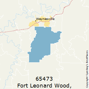 Zip Code For Ft Leonard Wood Mo