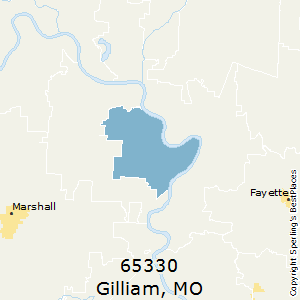 Gilliam,Missouri County Map