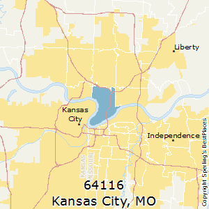 Kansas_City,Missouri County Map