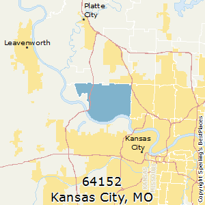 Kansas City Area Zip Code Map.Best Places To Live In Kansas City Zip 64152 Missouri