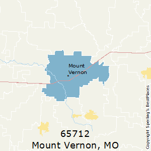 Mount_Vernon,Missouri County Map