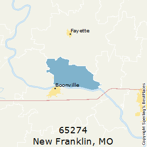 New_Franklin,Missouri County Map