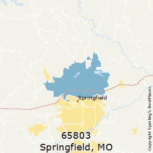 Springfield Va Zip Code Map.Best Places To Live In Springfield Zip 65803 Missouri