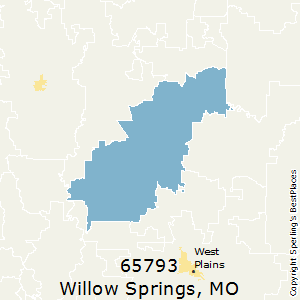 Willow_Springs,Missouri County Map