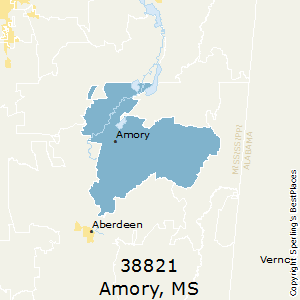 Best Places to Live in Amory (zip 38821), Mississippi
