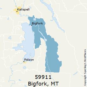 Kalispell Zip Code Map.Best Places To Live In Bigfork Zip 59911 Montana