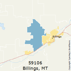 Best Places To Live In Billings Zip 59106 Montana
