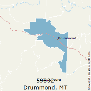 Drummond,Montana County Map
